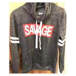 """Women's """"Savage"""" Hoodie"""